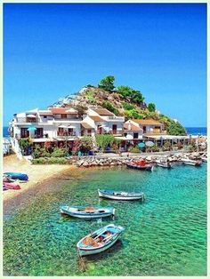 are the top 10 Greek Islands to visit in Greece Top 10 Greek Islands you should visit in Greece - Samos, a Greek island in the eastern Aegean Sea.Top 10 Greek Islands you should visit in Greece - Samos, a Greek island in the eastern Aegean Sea. Vacation Places, Vacation Destinations, Dream Vacations, Vacation Spots, Places To Travel, Places Around The World, Oh The Places You'll Go, Places To Visit, Around The Worlds