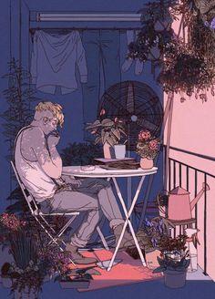 ᐅ Die 99 Besten Bilder von Illustration in 2019 & Pan aka Comics Illustration, Japon Illustration, Pretty Art, Cute Art, Animation, Drawn Art, Ligne Claire, Art Design, Aesthetic Art