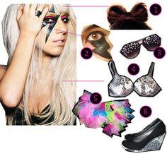 DIY The Look: Lady Gaga
