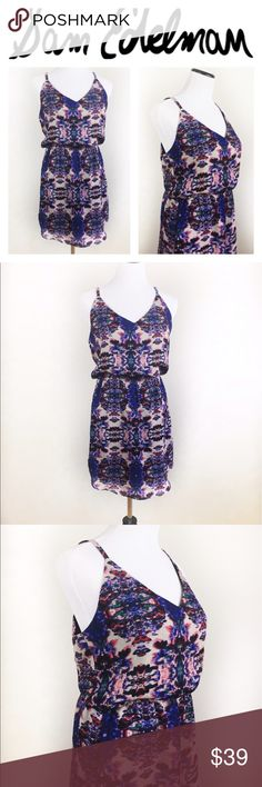 🔥SALE🔥NWOT SAM EDELMAN SPRING DRESS SZM Gorgeous Sam Edelman Multicolored spring dress in size Medium. Has a beautiful mesh/suede like detail in the back! Super sexy and fresh. Brand new without tags, never worn. Absolutely flawless, no holes or stains! Questions? Ask me 😉💖 Sam Edelman Dresses