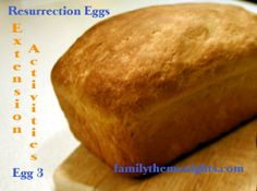 Teach kids about the Last Supper!  Family night deas to go with Resurrection Eggs, egg #3.