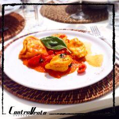 Ravioli & Fish, Italian Seafood Restaurant Controvento, Fregene, Rome