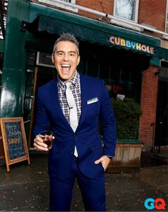 Andy Cohen Photos - GQ February 2013