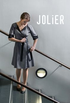 Due to discontinuation of the grey fabric manufacturing, we will empty our black-grey reversible dresses stock with a 30% discount on our webstore! Both JOLIER Pretty and -Eleanor dresses are available in L-XL size and Eleanor (image) in XS-M size. JOLIER dresses and skirts in this vibrant grey fabric have been highly popular so now's your chance to get the black-grey adjustable JOLIER dress with a lowered price! www.jolier.com