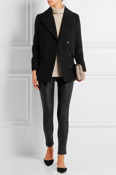 The Row | Antonia cotton and wool-blend coat | NET-A-PORTER.COM
