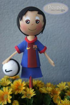 Poupée ST: Messi del Barsa