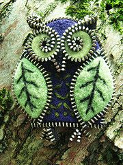 Felted Owl So Very Nice :)