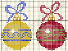 Point de croix *♥*Cross stitch Christmas