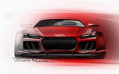 Teaser for new Audi Quattro concept   1963 Lamborghini 350 GTV Teaser for new Audi Quattro concept