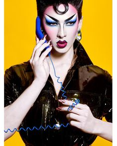 "forvioletchachki: """"Nagalesque Violet Chachki for Plastik Magazine "" """