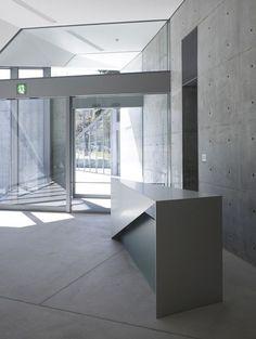 21-21 Design Sight, Minato, Tokyo designed by Tadao Ando