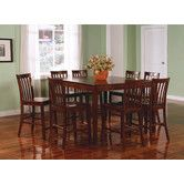 Found it at Wayfair - Lakeside 9 Piece Counter Height Dining Set