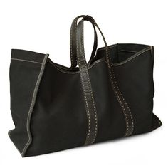 The perfect everyday tote- large enough for the market and even a spontaneous weekend away.
