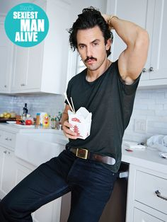 Milo Ventimiglia's Sexiest Day in the Kitchen Is Too Hot to Talk About Team Jess