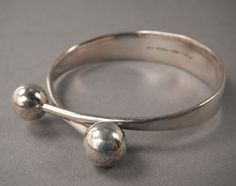 Bracelet | Hans Hansen. Sterling silver. ca. 1960