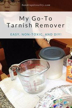 Here's an easy, DIY, non-toxic method for cleaning silver.  Only 3 ingredients, and you'll find all the supplies in your kitchen!  Click to read more, or pin for later.