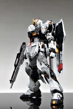 MG 1/100 RX-93 Nu Gundam Ver.Ka - Painted Build