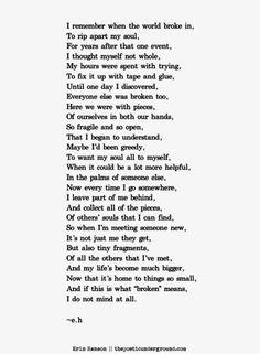 Broken Souls Poem