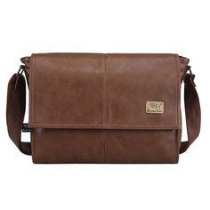 891ca19849 Designer handbags Men s 14 inch laptop bag pu leather