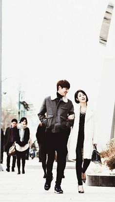 "Lee Min Ho and Kim Sung Ryung ♡ #Kdrama // The ""HEIRS"""