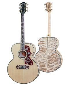 Gibson Acoustic, Gibson Guitars, Acoustic Guitars, Guitar Pics, Beautiful Guitars, Miles Davis, Guitar Design, Zeppelin, Bass