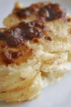 Pommes Dauphinoise recipe on www.nomu.co.za
