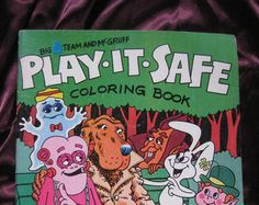 Shop for safety book on Etsy, the place to express your creativity through the buying and selling of handmade and vintage goods. Romper Room, Coloring Books, Children, Kids, Play, Handmade, Vintage, Vintage Coloring Books, Young Children