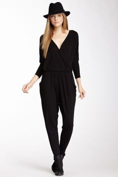 Loveapella Long Sleeve Cropped Pant Romper