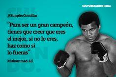 Muhammad Ali en frases - culturizando.com   Alimenta tu Mente