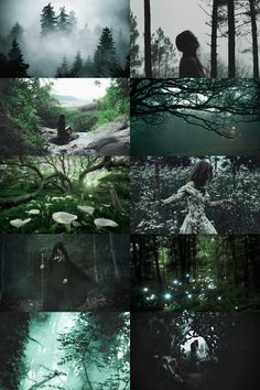 enchanted forest witch aesthetic (requested) more here // request here