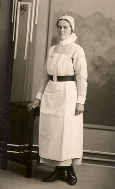 Mary Ruth Bleazley 1937. The League of St. Bartholomew's Nurses.