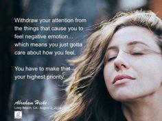 #abrahamhicks #feelgood #priority