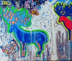 Cervi(For more info: link in Bio)  #art #arte #Amsterdam #nature #natura #contemporaryart #Italia #italy #paintings #popart #digitalart #drawing #draw #sketch #art #artist #arte #artoftheday #artistic #artsy #illustration  #painting  #instaart #instaartist  #creative  #sketching #dibujo #instadraw #artwork #quadro #dipinti #popart