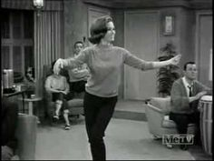 Mary Tyler Moore as Laura Petrie is the cutest of all time