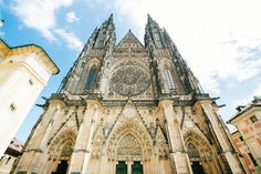 """Visit Prague the """"Golden City"""" on the Vltava river. Discover grand buildings, the city centre and the cultural flair of the beautiful city. Day Trips From Vienna, Prague Guide, Vienna State Opera, Visit Prague, Free Hotel, Bus Travel, Day Tours, Walking Tour, Barcelona Cathedral"""
