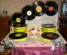 deco gateau disco