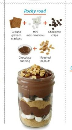 Use almonds for my peanut-free little guy Parfait Desserts, Pudding Desserts, Mini Desserts, Summer Desserts, Dessert Recipes, Mini Dessert Cups, No Bake Treats, Yummy Treats, Delicious Desserts