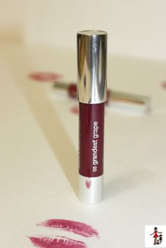 Clinique Chubby Stick in Grandest Grape. Favorite Beauty Products - lip color Rattles & Heels