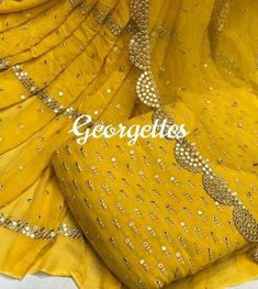Indian Gowns Dresses, Pakistani Dresses, Indian Outfits, Embroidery Suits, Embroidery Designs, Long Dress Design, Kurta Neck Design, Georgette Fabric, Beautiful Bollywood Actress