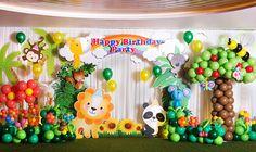 Idee per decorazioni di palloncini per feste a tema :) inviti da scaricare!