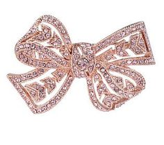 Meaningful Pink Bow Pin from Kenneth J Lane on QVC.  For each pin sold a donation is being made for Breast Cancer Research!  Clearance Price $29.64 + s/h.
