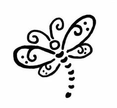 Dragonfly Tattoo Designs - The Body is a Canvas Dragonfly Drawing, Small Dragonfly Tattoo, Dragonfly Art, Original Tattoos, Bear Tattoos, Cute Tattoos, Tatoos, Henna Tattoos, Tattoo Samples