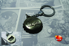 Llavero destapador de los Beatles