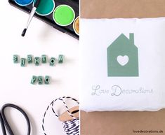 DIY Geschenkverpackung mit Handlettering + Stempel // DIY Wrapping Idea with Handlettering + Stamps