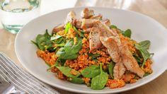 Bruschetta, Thai Red Curry, Risotto, Nom Nom, Pork, Meals, Chicken, Dinner, Healthy