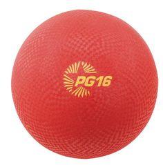 2Pack Champion Playground Gym Dodgeball Kickball 5 Nylon Wound 2-ply Red Ball