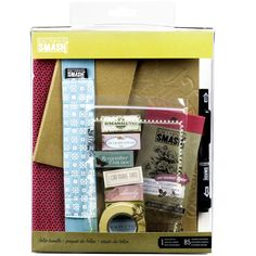 <div>This folio gift pack is the perfect all-in-one starter kit to begin saving the moments and ...