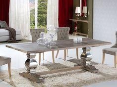 Mesas de Comedor en Madera ANTICA. Decoracion Beltran, tu catalogo online de mesas de madera.