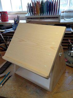 Eric's Adjustable Drawing Board Pattern by slatefallsknits on Etsy