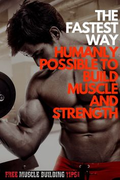 Muscle Building Tips. Gain More Mass With These Weight Training Tips! You can enjoy yourself and see the progress of an effective workout routine. Fitness Gadgets, Fitness Tips, Fitness Motivation, Health Fitness, Workout Plan For Men, Workout Guide, Workout Plans, Build Muscle Fast, Gain Muscle